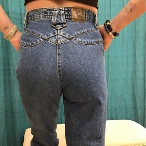 Vintage 80s Rockies 3/4 High Waisted Jeans